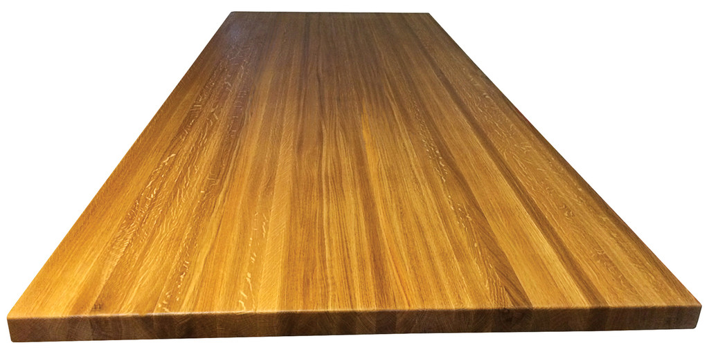 White Oak Edge Grain Countertop
