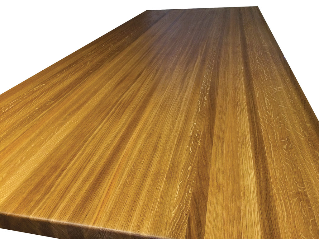 Etonnant White Oak Cutting Board Countertop. Edge Grain White Oak Butcher Block ...