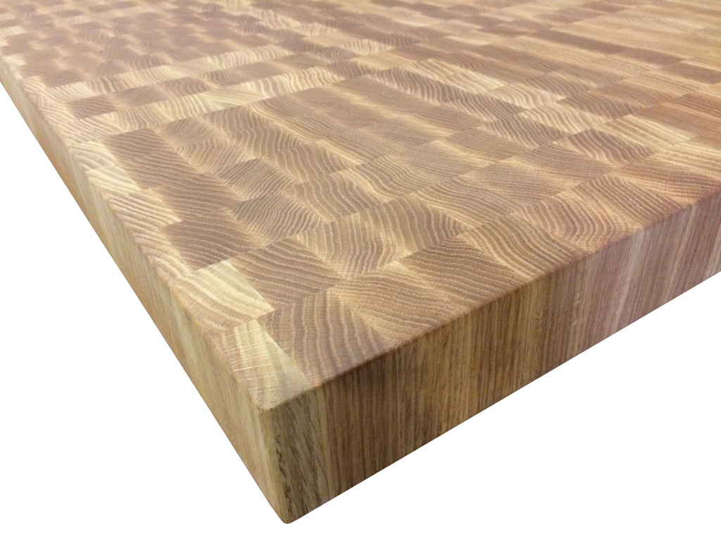 Merveilleux End Grain Red Oak