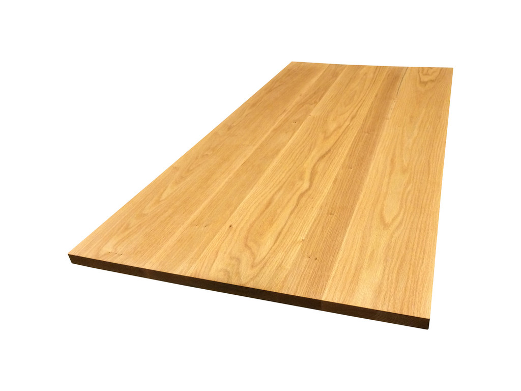 Wide Plank Red Oak Tabletop