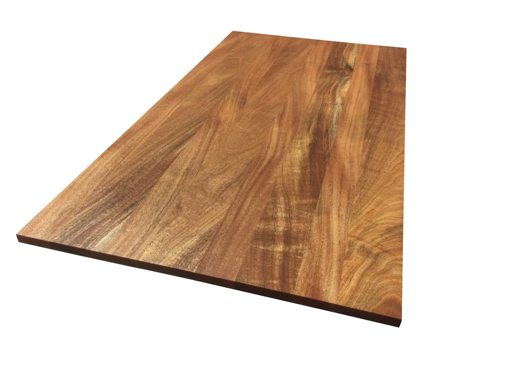 Incroyable African Mahogany Wood Tabletop