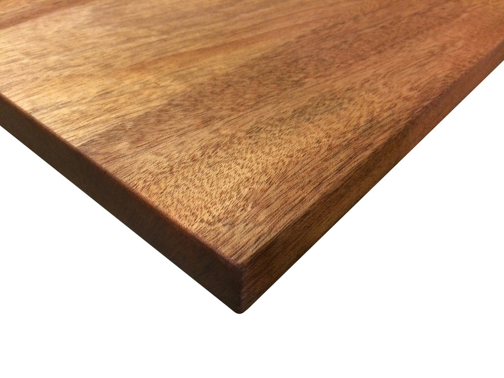 African Mahogany Tabletop Detail