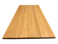 Red Oak Tabletop Close-up