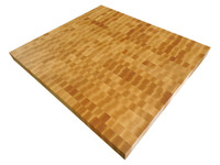 End Grain Butcher Block Top for Kitchen Island
