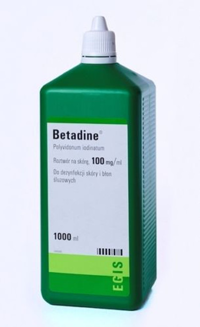 BETADINE IODINE FIRST AID SOLUTION ANTISEPTIC CUTS WOUNDS 1000ml