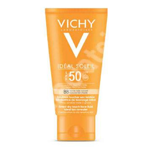 VICHY IDEAL SOLEIL BB EMULSION SPF 50 , 50 ML