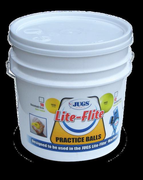 Bucket of Lite-Flite® Baseballs or Softballs