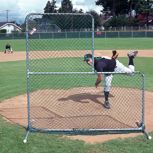 Quick-Snap®: L-Shaped Pitchers Screen