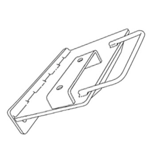 Pad Bracket: Super/SB/Jr./MVP Pitching Machines (Pad