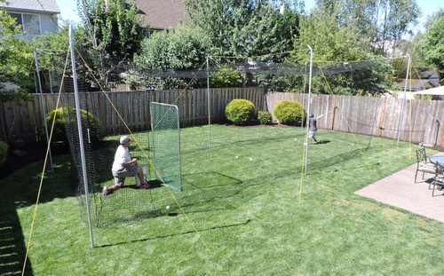 home batting cages jugs sports batting cages for baseball softball 1654