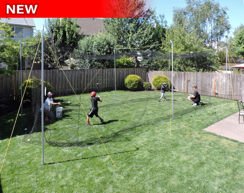 ... Backyard Batting Cage. Quick view - JUGS Sports: Batting Cages For Baseball, Softball