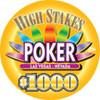 High Stakes Poker Chips 1000 denom