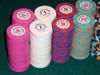 Horseshoe ceramic poker chips