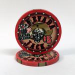 Nevada Jack Skulls $5 chip