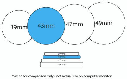 Custom Poker Chip Size Comparison