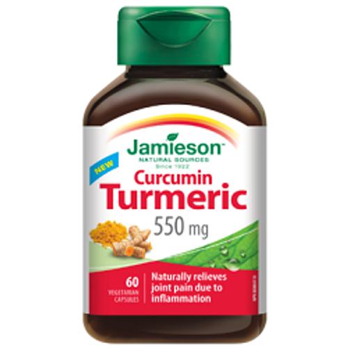Jamieson Curcumin Turmeric 550mg - 60 Capsules