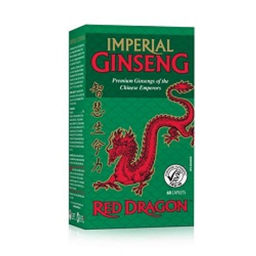 Jamieson Red Dragon Imperial Ginseng 60 Caplets