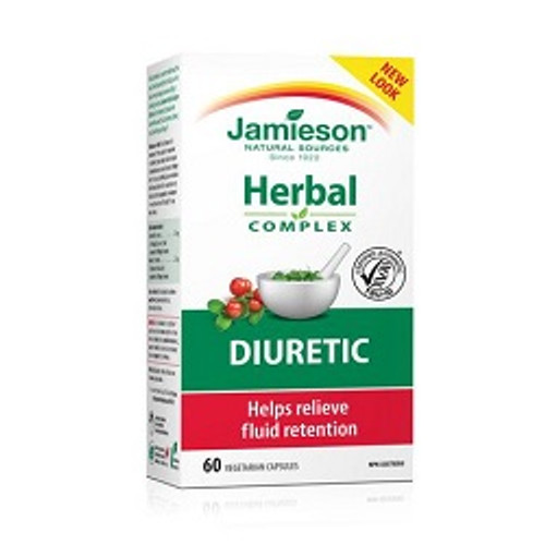 Jamieson Herbal Diuretic 60 Capsules