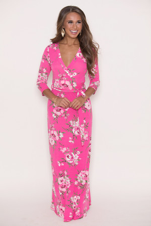Boutique floral dress shop floral dresses pink lily finding love floral maxi dress pink mightylinksfo