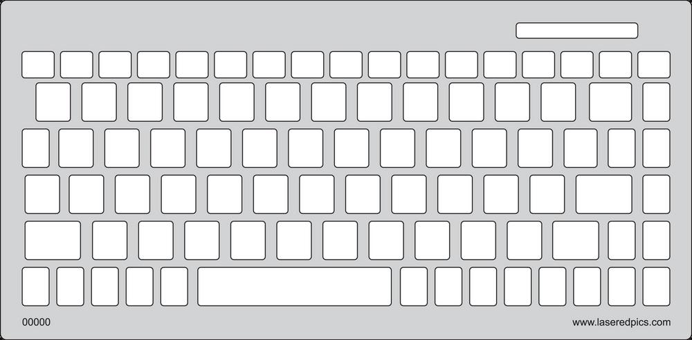 Keyguard for the Solidtek 595.