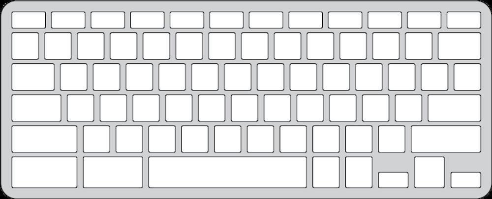 Keyguard for the Dell Chromebook 3380