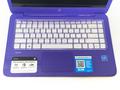 "Keyguard in 3/16"" clear acrylic shown on HP Stream 14."