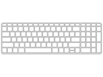 "Keyguard for HP 15.6"" Touchscreen laptop."