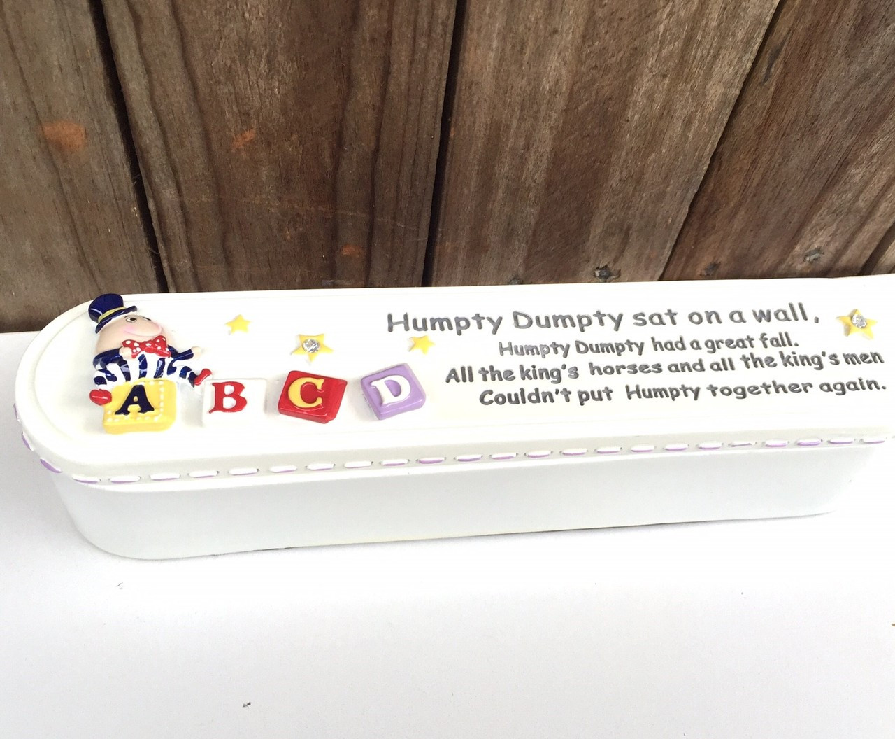 Humpty Dumpty Birth Certificate Holder By Gifted Memories