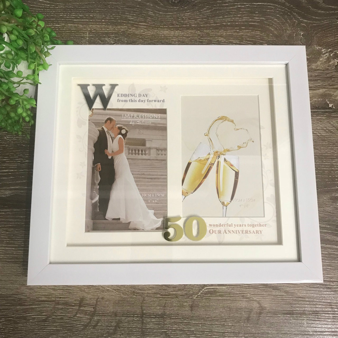 40th Wedding Anniversary Photo Frame By Gifted Memories