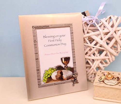 First Holy Communion Photo Frame By Gifted Memories