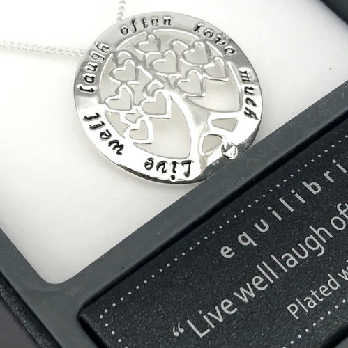 Equilibrium Tree Necklace - 'Love Much'