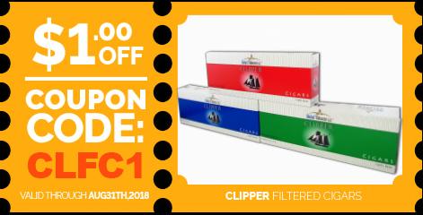 Clipper Filtered Cigars