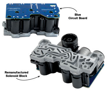 5R55S 5R55W TRANSMISSION SOLENOID BLOCK REBUILT BY SONNAX WITH UPGRADES  FITS '02-'03 FORD