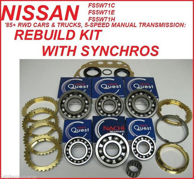 fs5w71c fs5w71e fs5w71h transmission rebuild kit with synchro rings rh transmissionpartsdistributors com Manual Transmission Diagram Ford Manual Transmissions List