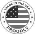 Icon of proudly made in the USA