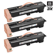 Compatible Xerox 006R01159 Laser Toner Cartridges Black 3 Pack