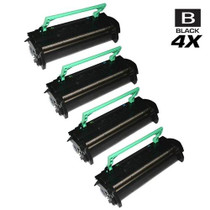 Compatible Konica Minolta 1710405-002 Laser Toner Cartridges High Yield Black 4 Pack
