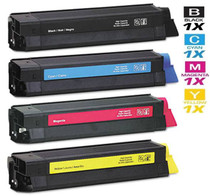 Compatible Okidata Laser Toner Cartridges 4 Color Set (42804504/ 42804503/ 42804502/ 42804501)