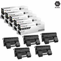 Compatible Okidata 52123601 Laser Toner Cartridges Black 5 Pack