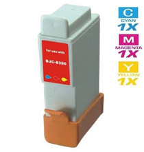 Compatible Canon BCI-24 Ink Cartridge Remanufactured Tri Color