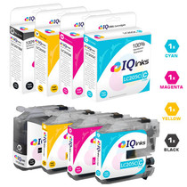 Compatible Brother LC207-LC205 Premium Quality InkJet Cartridge Extra High Yield 4 Color Set (LC207BK/ LC205C/ LC205M/ LC205Y)