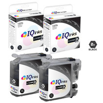 Compatible Brother LC103BK Premium Quality InkJet Cartridge High Yield 2 Black Set