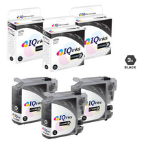 Compatible Brother LC103BK Premium Quality InkJet Cartridge High Yield 3 Black Set