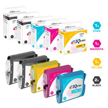 Compatible Brother LC51 Premium Quality InkJet Cartridge 5 Color Set (LC51BK/ LC51C/ LC51M/ LC51Y)