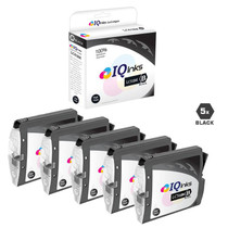 Compatible Brother LC51BK Premium Quality InkJet Cartridge 5 Black Set