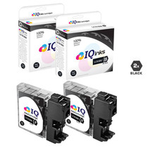 Compatible Brother LC61BK Premium Quality InkJet Cartridge 2 Black Set