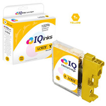 Compatible Brother LC61Y Premium Quality InkJet Cartridge Yellow