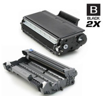 Compatible Brother TN560-DR500 Premium Quality Toner and Drum Cartridge High Yield Black