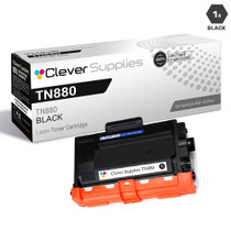 Compatible Brother TN880 Laser Toner Cartridge Extra High Yield Black