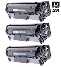 Compatible Canon 104 (0263B001AA) Toner Cartridges Black 3 Pack